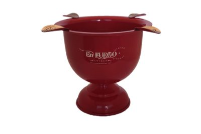 En Fuego Cigars - Cigar-Ashtray - Fire Engine Red