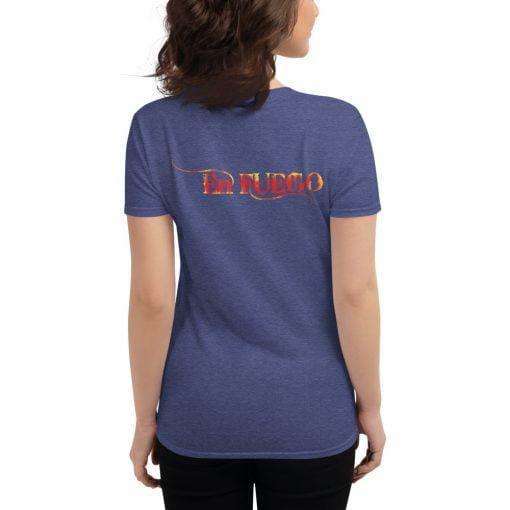 "En Fuego Cigars Las Vegas ""On Fire"" - Women's short sleeve t-shirt 5"