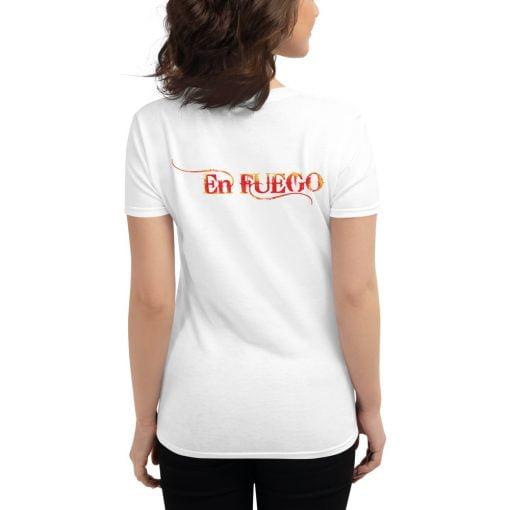 "En Fuego Cigars Las Vegas ""On Fire"" - Women's short sleeve t-shirt 10"